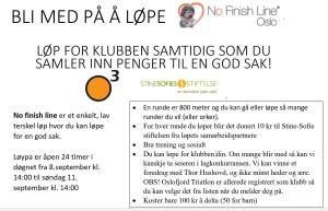 Vi stiller lag på NoFinishLine Oslo